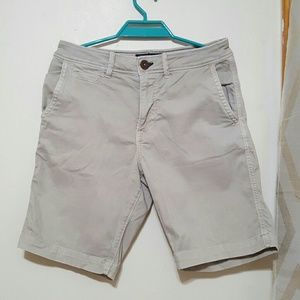 American Eagle Outfitters Flat Front Khaki Shorts